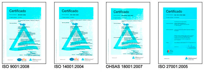 Certified images guarantee and quality